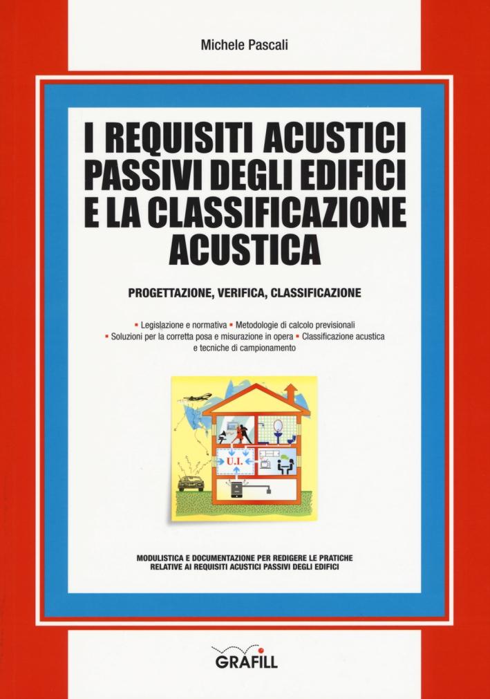 I requisiti acustici passivi degli edifici e la classificazione acustica. Progettazioine, verifica, classificazione
