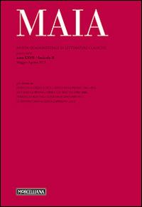 Maia. Rivista di letterature classiche (2015). Vol. 2.