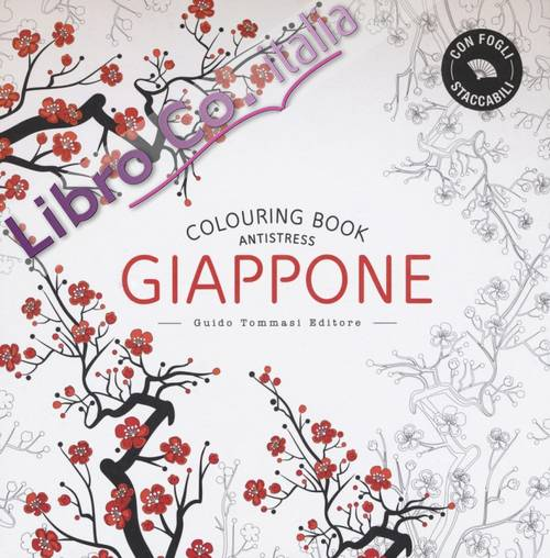 Giappone. Colouring Book Antistress.
