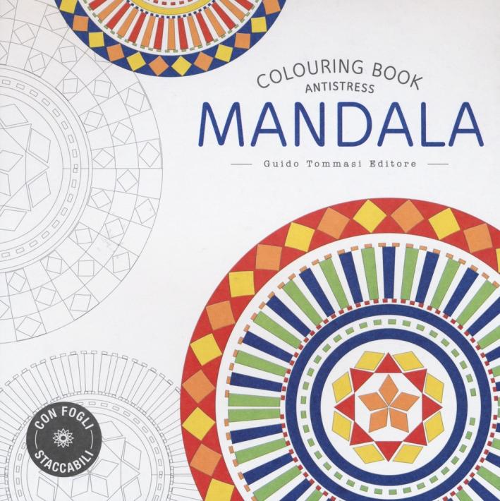 Mandala. Colouring Book Antistress.