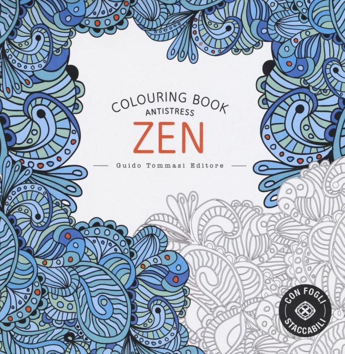 Zen. Colouring Book Antistress.