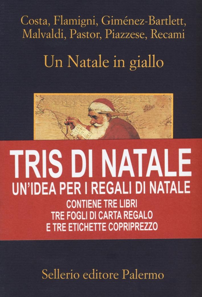 Tris di Natale. Un'idea per i regali di Natale: Un Natale in giallo-Capodanno in giallo-Regalo di Natale. Con gadget
