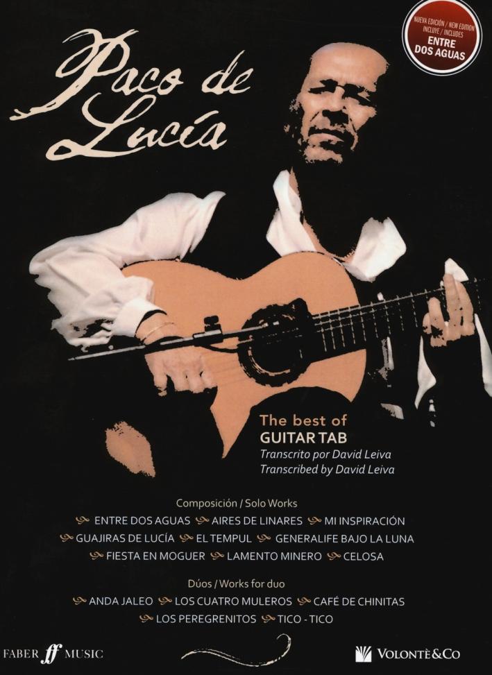 Paco De Lucia. Best of guitar. Ediz. inglese e spagnola