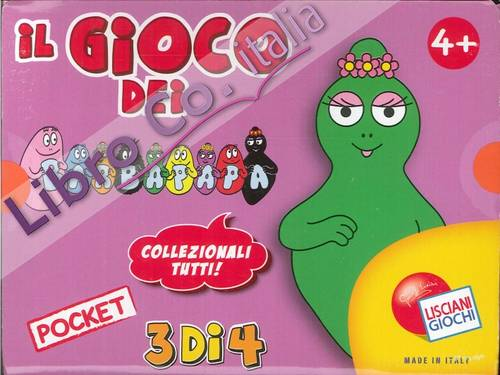 Il Gioco dei Barbapapà. Giochi Pocket Collection. 3 di 4.