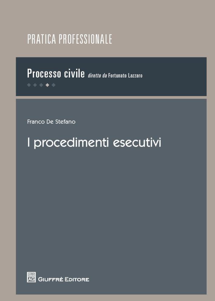 I procedimenti esecutivi