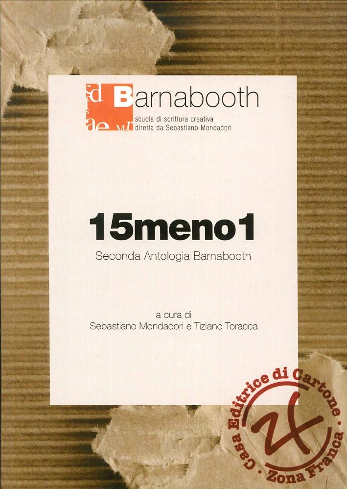 15meno1. Seconda Antologia di Barnabooth