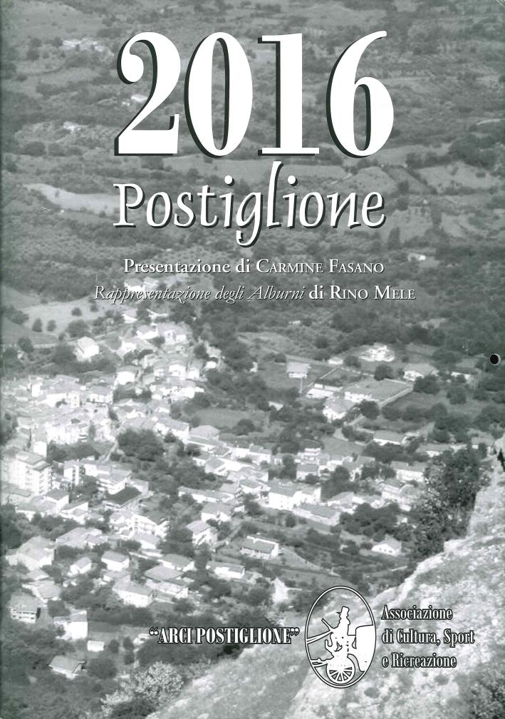 2016 Postiglione. (Calendario)