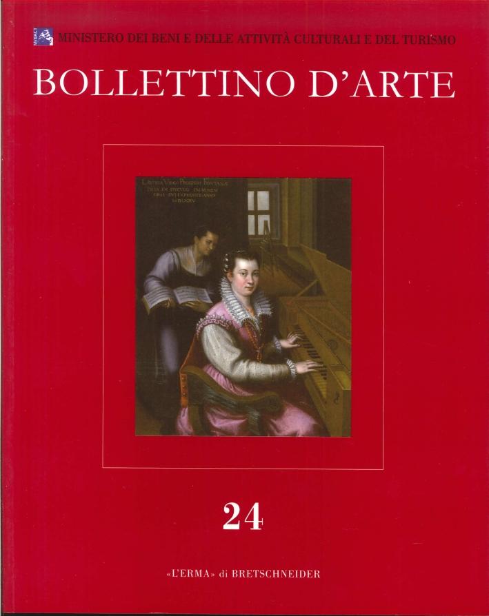 Bollettino d'Arte. 24. 2014. Serie VII. Ottobre-Dicembre. Anno 2014
