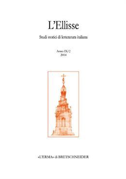 L'Ellisse. Studi storici di letteratura italiana (2010). Vol. 9/2: Giacomo Leopardi. Il libro dei versi del 1826.