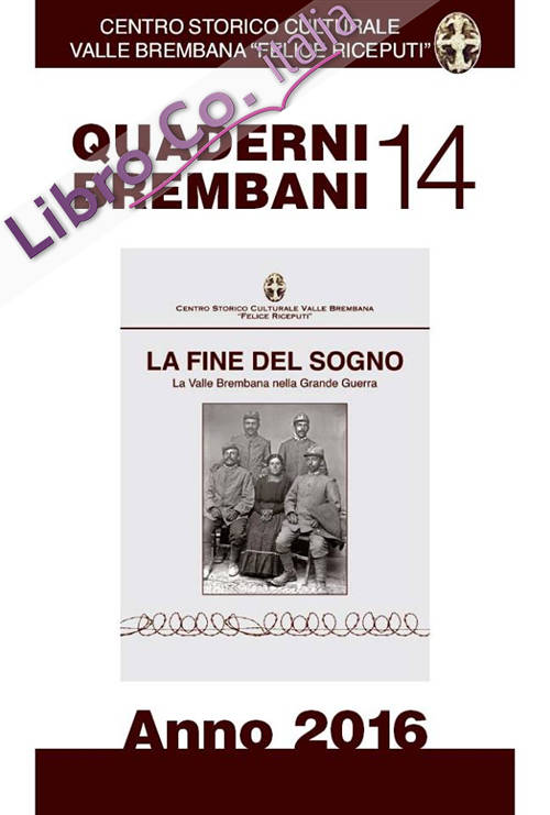 Quaderni Brembani (2016). Vol. 14.