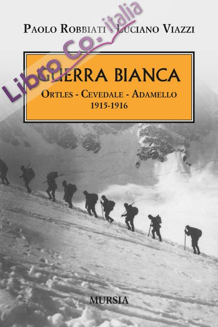 Guerra bianca. Ortles, Cevedale, Adamello 1915-1916.