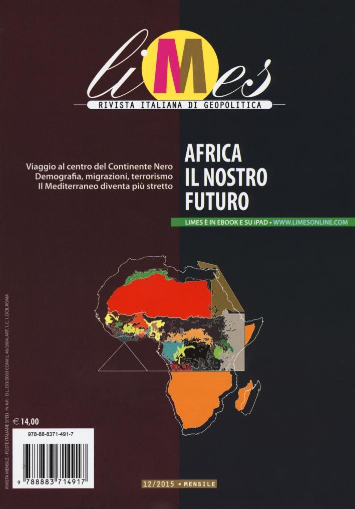 Limes. Rivista italiana di geopolitica (2015). Vol. 12.