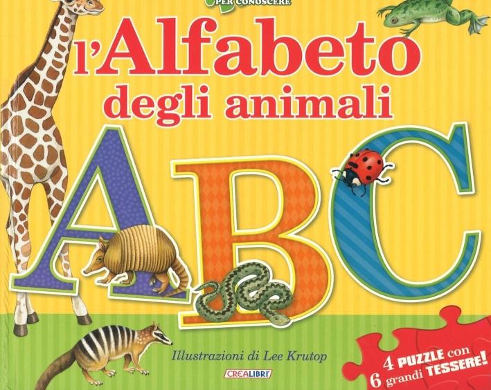 L'alfabeto degli animali. Libro puzzle. Ediz. a colori