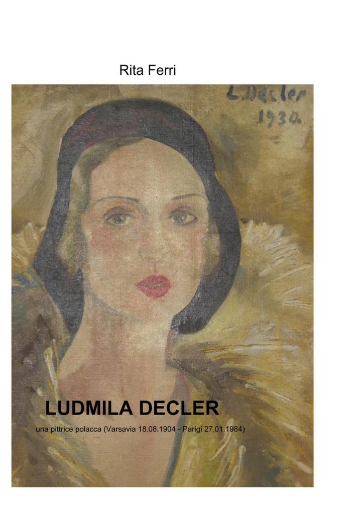 Ludmilla Decler. Una pittrice polacca