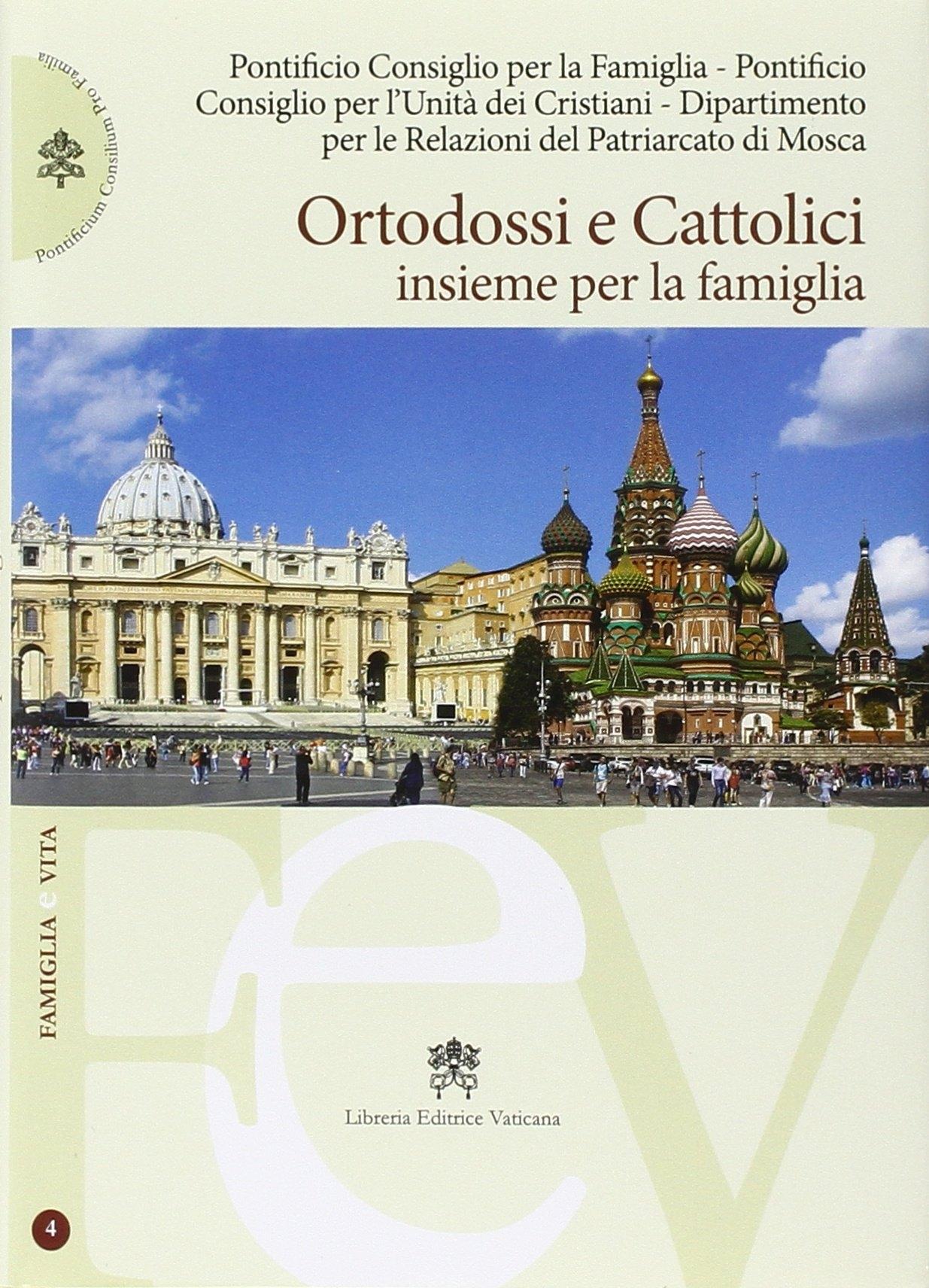 Ortodossi e cattolici insieme per la famiglia.