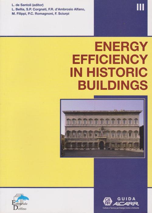 Energy efficiency in historic buildings