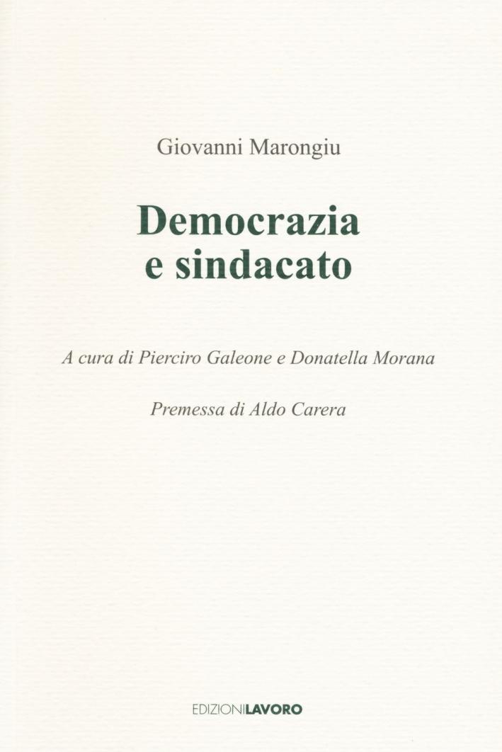 Democrazia e sindacato.