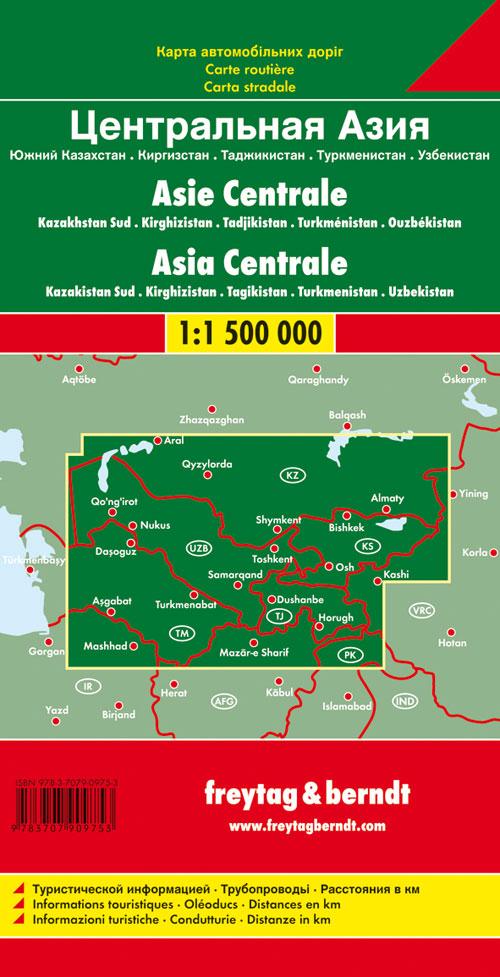 Asia centrale 1:500.000