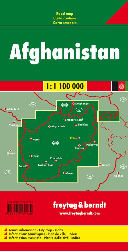 Afghanistan 1:1.100.000
