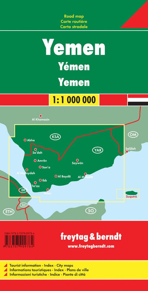 Yemen 1:1.000.000.