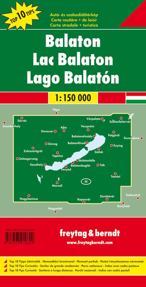 Lago Balaton 1:150.000