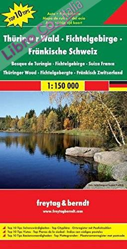 Selva di Turingia 1:150.000