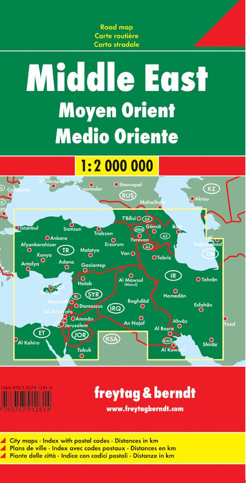 Medio Oriente 1:2.000.000