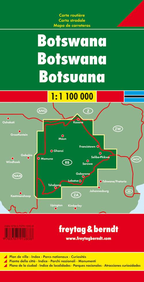 Botswana 1:1.100.000