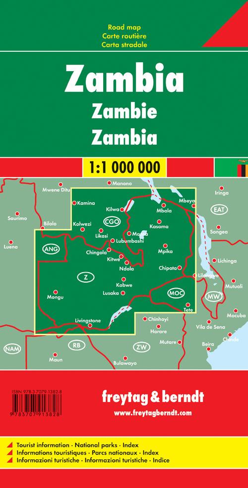 Zambia 1:1.000.000