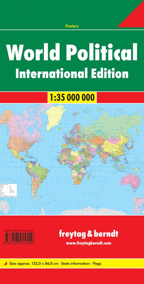 World international 1:35.000.000