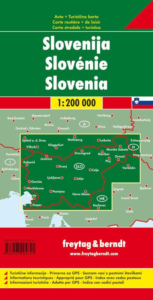 Slovenia 1:200.000.