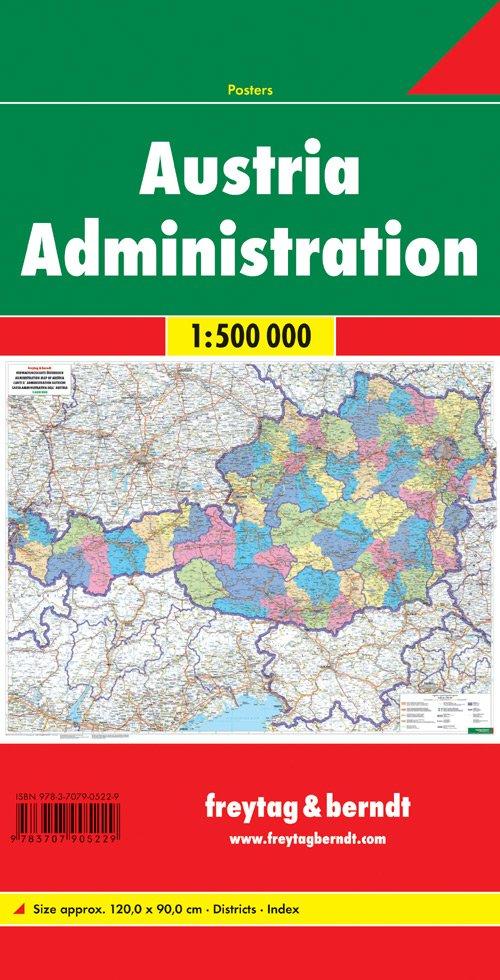 Austria administration 1:500.000