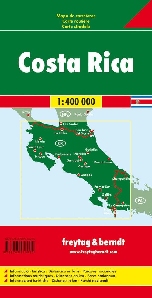 Costa Rica 1:400.000.