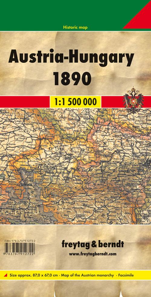 Austria-Hungay 1:1.500.000.