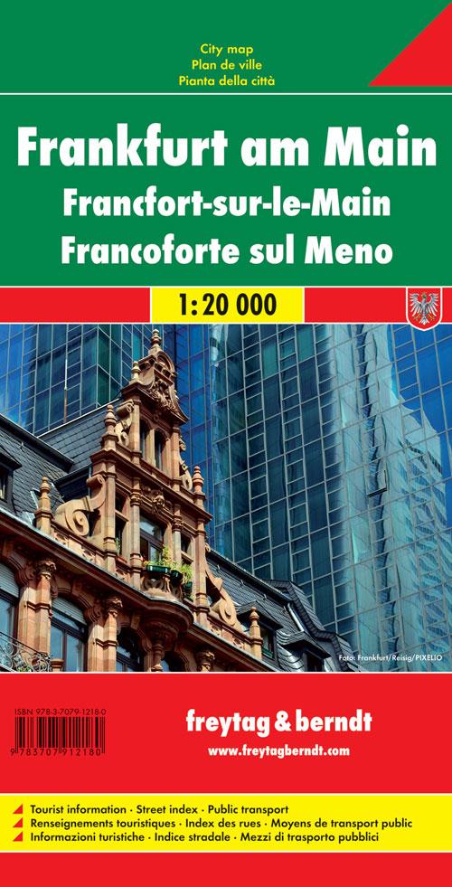 Francoforte sul Meno 1:20.000.