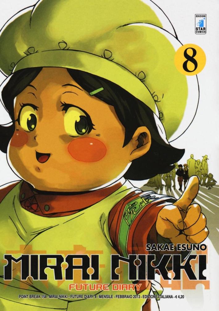 Mirai Nikki. Future diary. Vol. 8