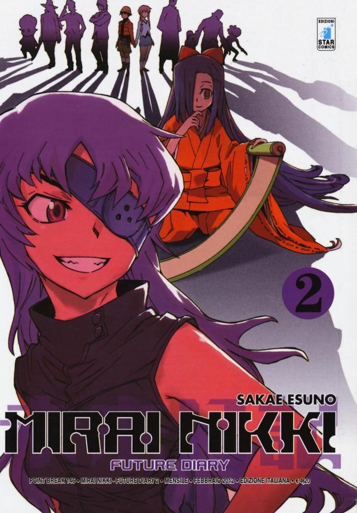 Mirai Nikki. Future diary. Vol. 2