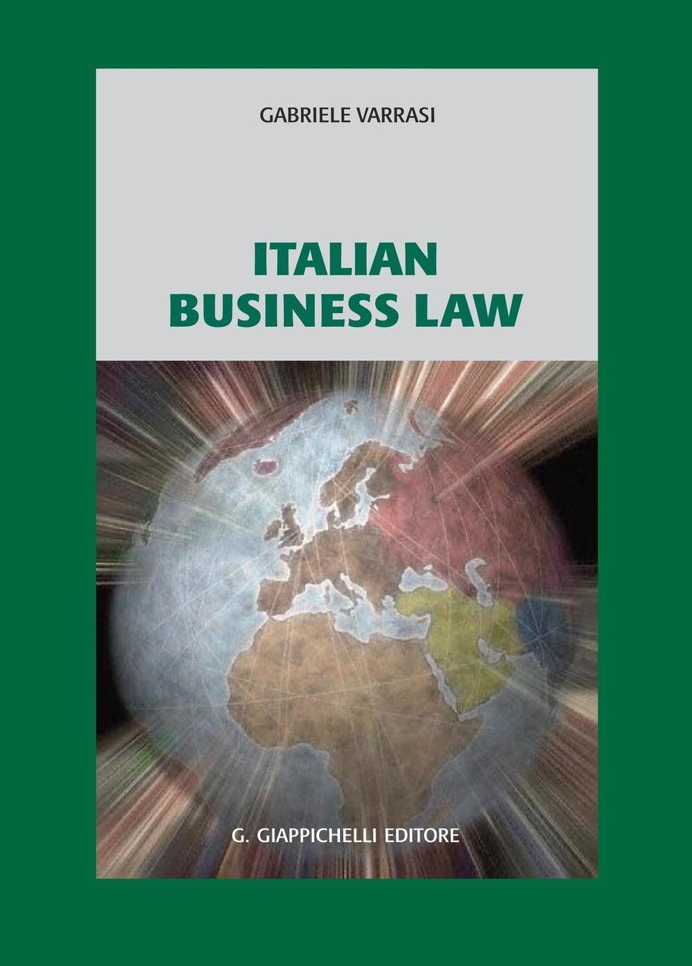 Italian business law.