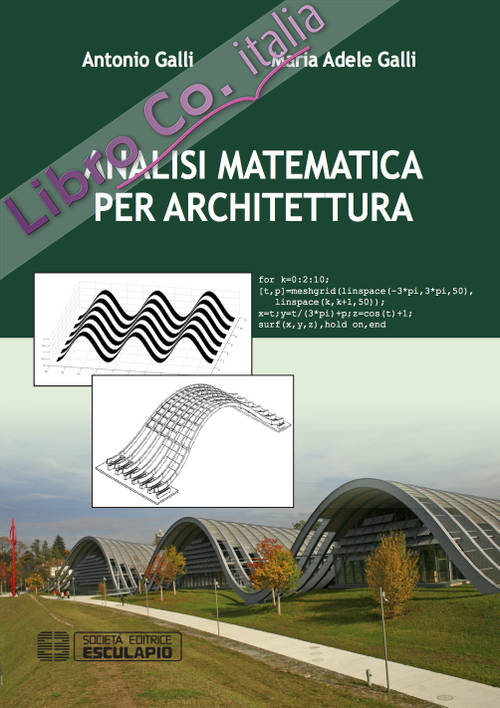 Analisi matematica per architettura.