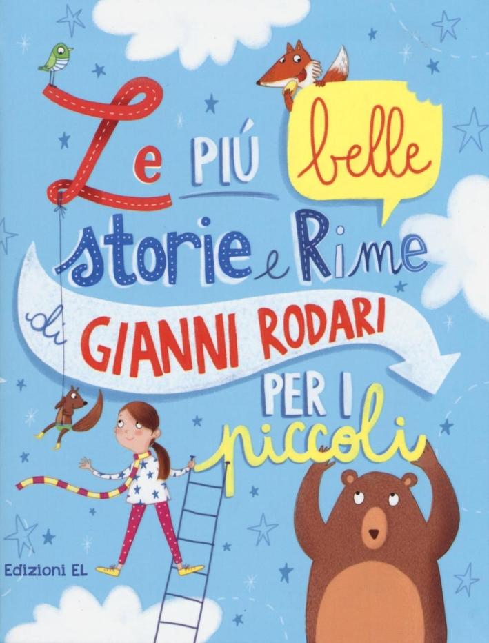 Le più belle storie e rime di Gianni Rodari per i piccoli.