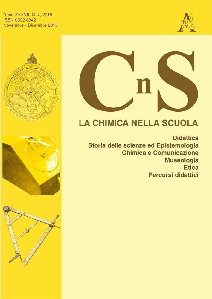 La chimica nella scuola. Vol. 5.