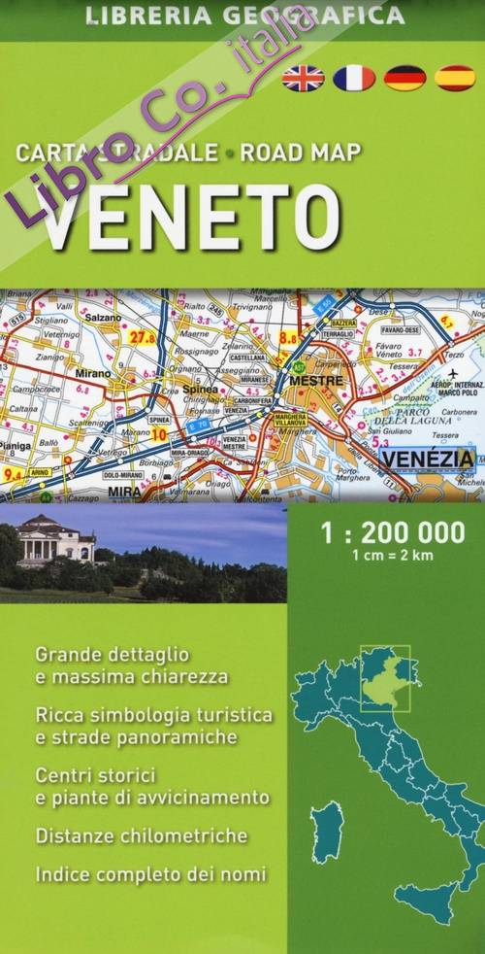 Veneto 1:200.000.