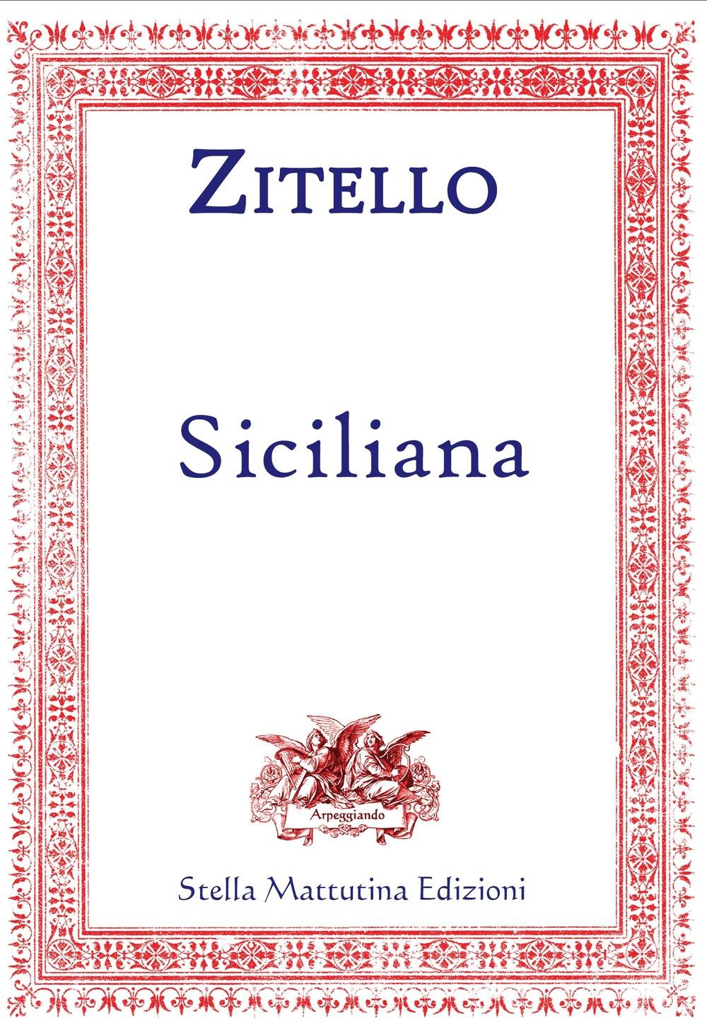 Siciliana. Versione per il Concorso suoni d'Arpa 2016.
