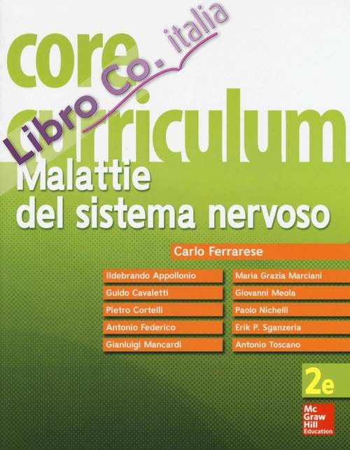 Core curriculum. Malattie del sistema nervoso.