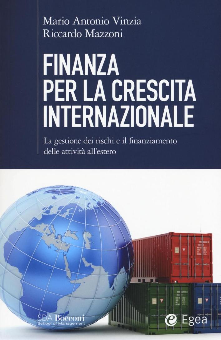 Finanza per la crescita internazionale.