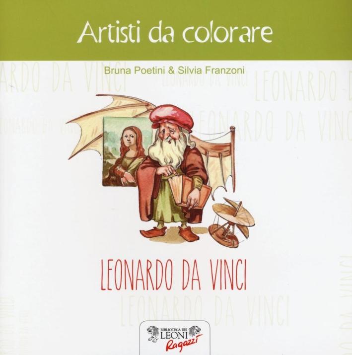 Leonardo da Vinci. Artisti da colorare.