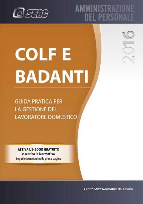 COLF E BADANTI 2016