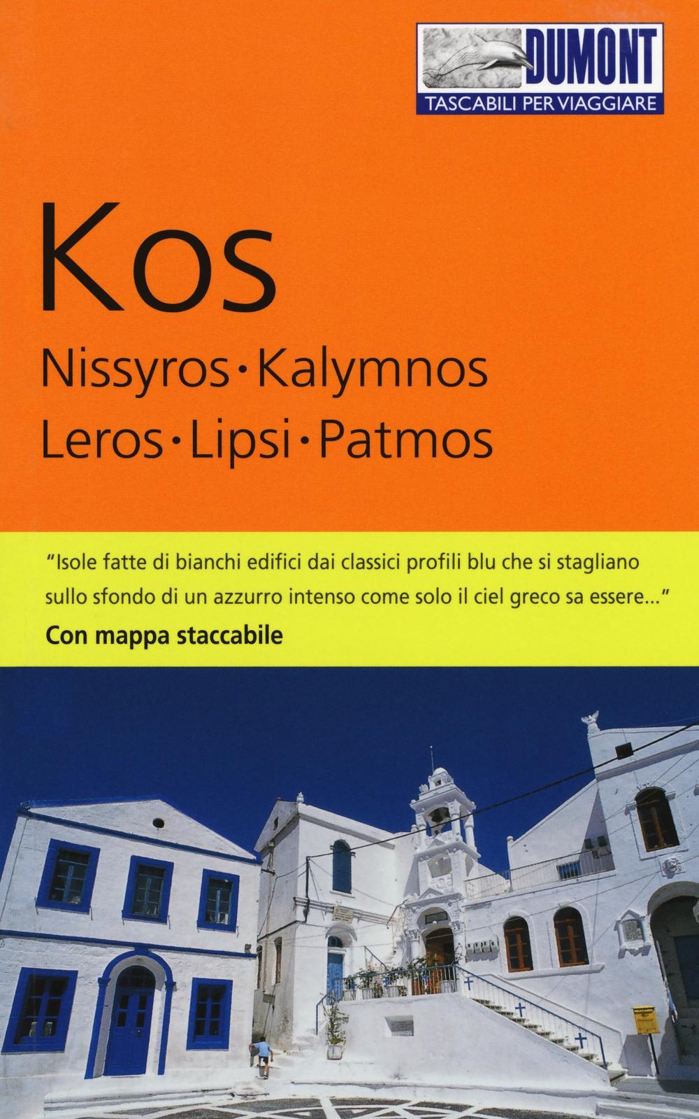 Kos, Nissyros, Kalymnos, Leros, Lipsi, Patmos. Con mappa.