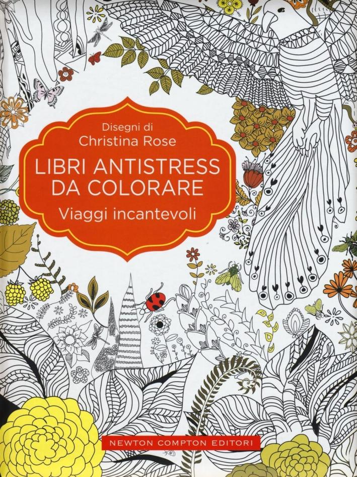 Viaggi incantevoli. Libri antistress da colorare.