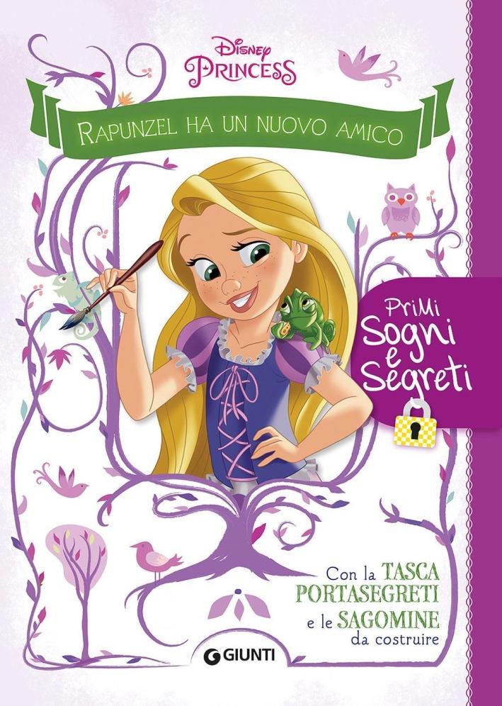 Rapunzel ha un nuovo amico. Primi sogni e segreti. Con adesivi. Ediz. illustrata. Con gadget